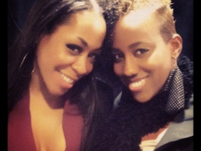 Khadia and Tichina Arnold 2014