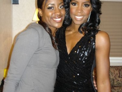 Khadia and Kelly Roland