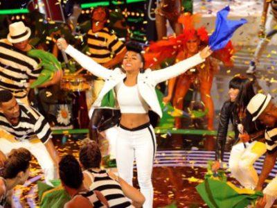 Khadia performing Janelle Monae